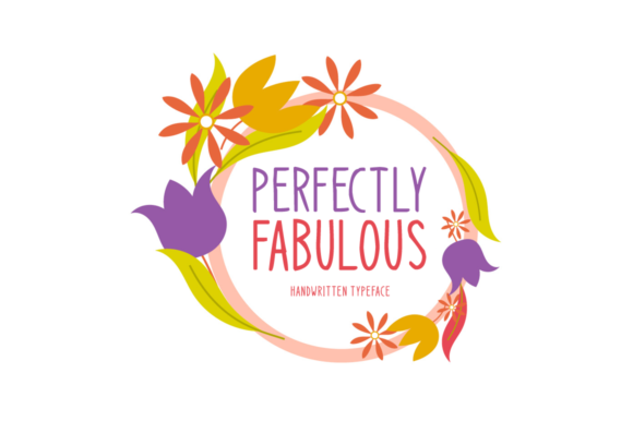 Print on Demand: Perfectly Fabulous Display Font By Seemly Fonts