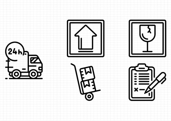 Download Free Postal Service Graphic By Gantengagif7 Creative Fabrica for Cricut Explore, Silhouette and other cutting machines.