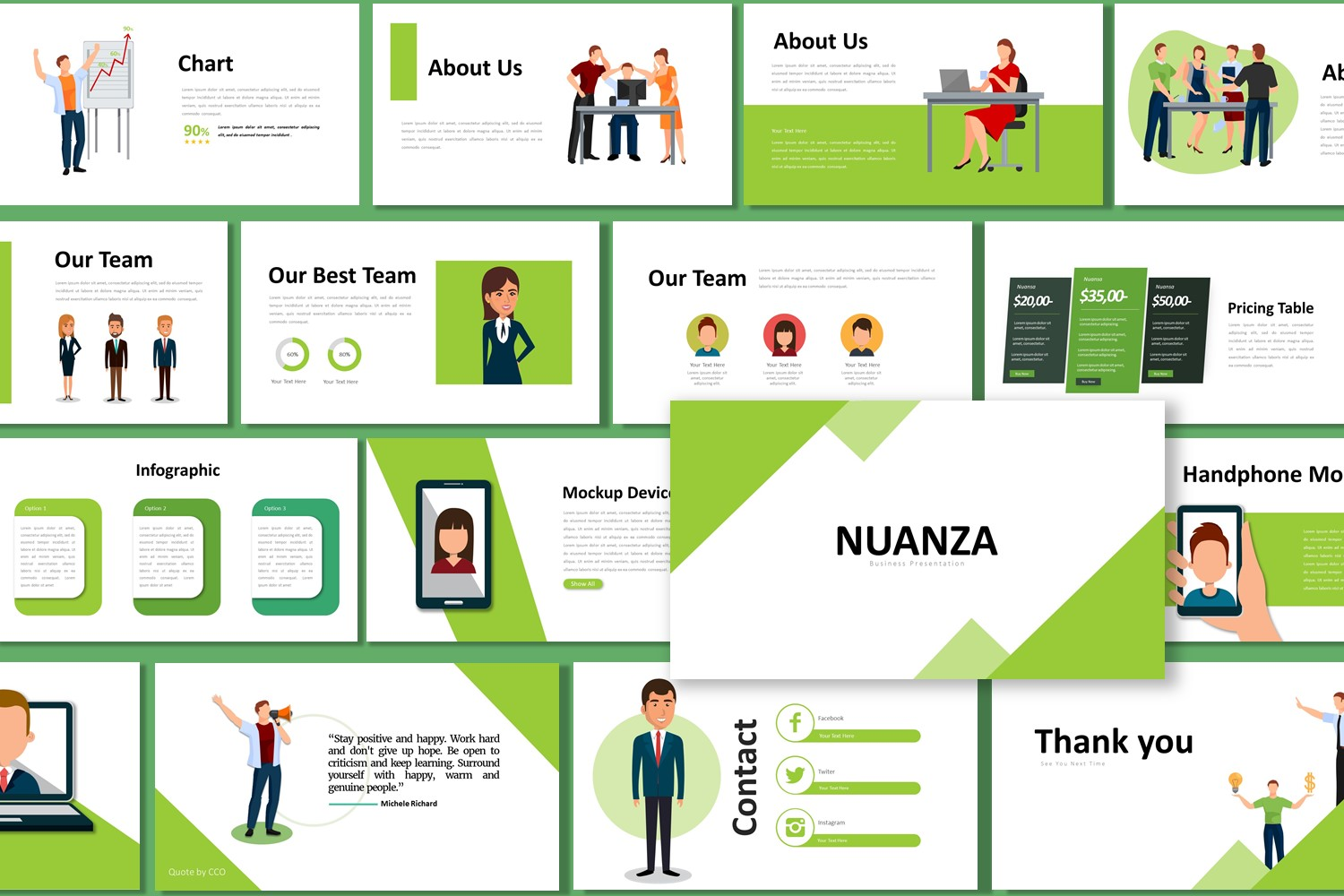 Download Free Presentation Templates Nuanza Graphic By Listulabs Creative for Cricut Explore, Silhouette and other cutting machines.
