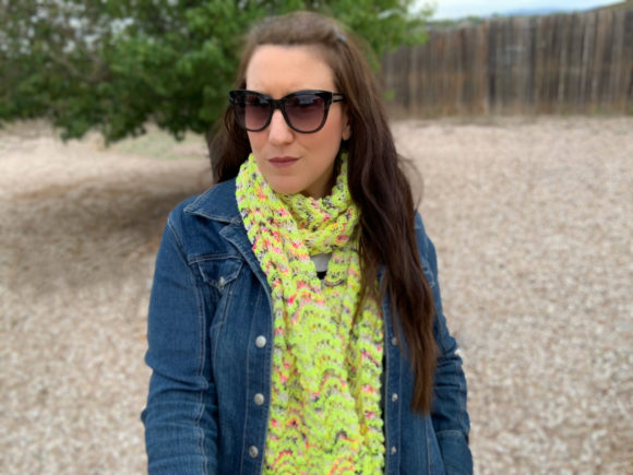 Punk Lemonade Scarf Knitting Pattern Graphic Knitting Patterns By Knit and Crochet Ever After - Image 2