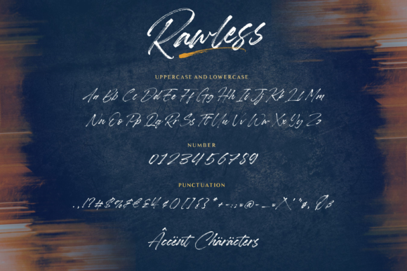 Download Free Rawless Font By Balpirick Creative Fabrica for Cricut Explore, Silhouette and other cutting machines.