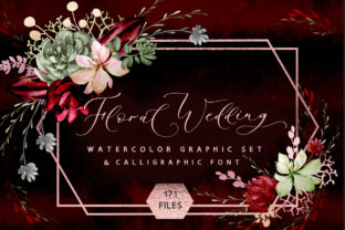 Print on Demand: Rustic Floral Graphic & Font Graphic Objects By Iradvilyuk