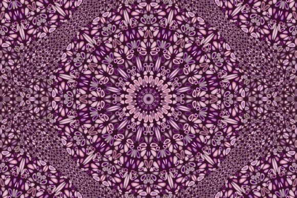 Download Free Seamless Floral Mandala Pattern Graphic By Davidzydd Creative SVG Cut Files