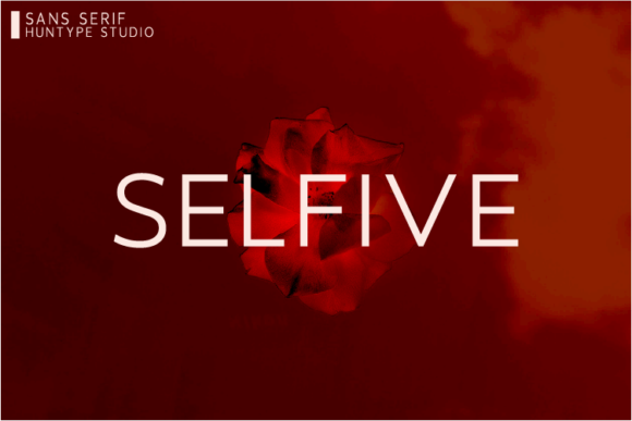 Print on Demand: Selfive Sans Serif Fuente Por Huntype