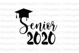 Download Free Senior 2020 Graduation Graphic By Cutfilesgallery Creative for Cricut Explore, Silhouette and other cutting machines.