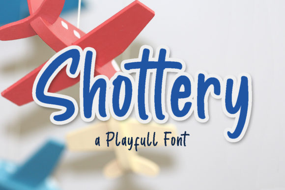 Print on Demand: Shottery Display Font By Letterrendra