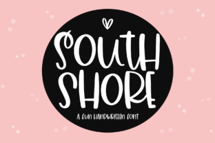 Print on Demand: South Shore Display Font By KA Designs