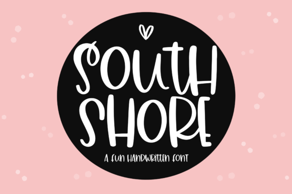 Print on Demand: South Shore Display Fuente Por KA Designs