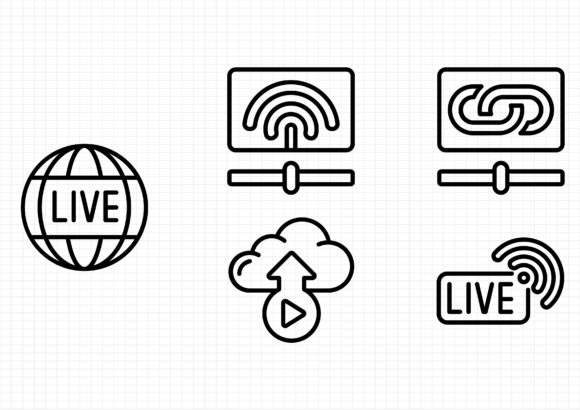 Download Free Streaming Graphic By Gantengagif7 Creative Fabrica for Cricut Explore, Silhouette and other cutting machines.