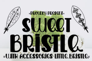Print on Demand: Sweet Bristle Display Font By edwar.sp111