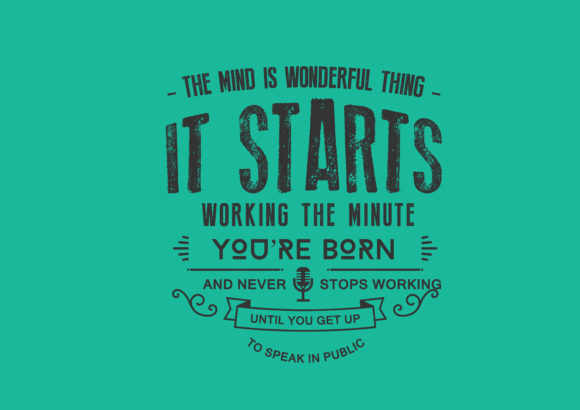 Download Free The Mind Is A Wonderful Thing Graphic By Baraeiji Creative Fabrica for Cricut Explore, Silhouette and other cutting machines.