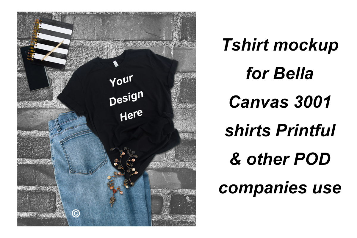 Download Free Tshirt Mockup Bella Canvas 3001 Shirts Graphic By A Design In for Cricut Explore, Silhouette and other cutting machines.