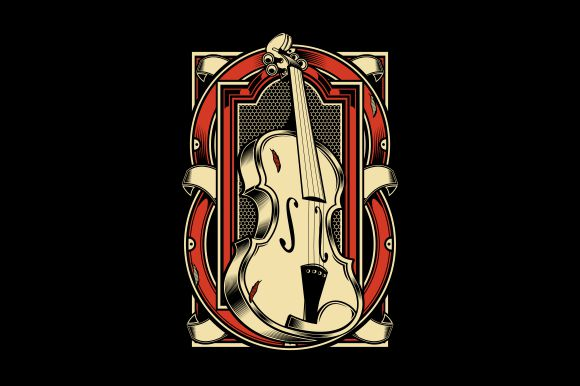 Download Free Viola Musical Instrument Graphic By Epic Graphic Creative Fabrica for Cricut Explore, Silhouette and other cutting machines.