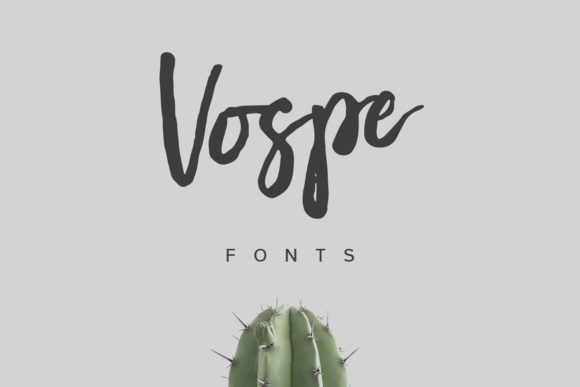 Download Free Vospe Font By Maulana Creative Creative Fabrica SVG Cut Files