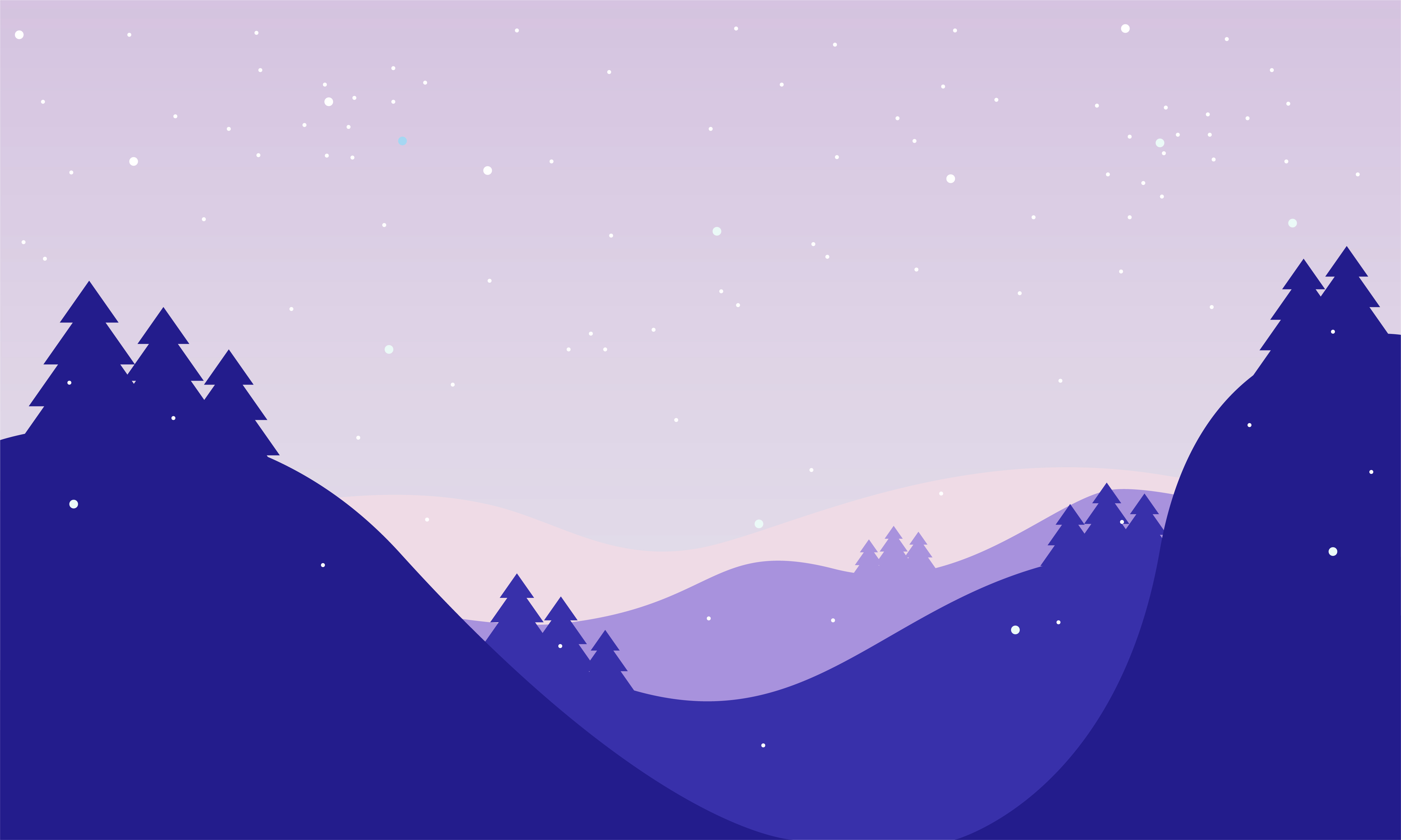 Download Free Winter Landscape Background Graphic By Be Young Creative Fabrica for Cricut Explore, Silhouette and other cutting machines.