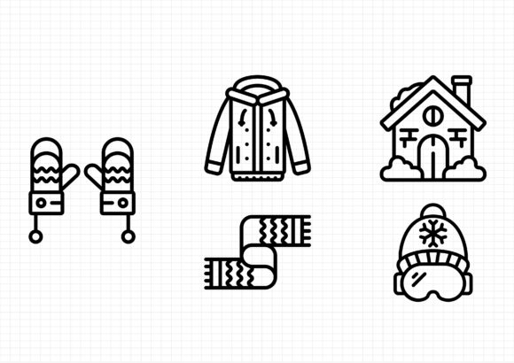 Winter Time Graphic Icons By beryladamayu