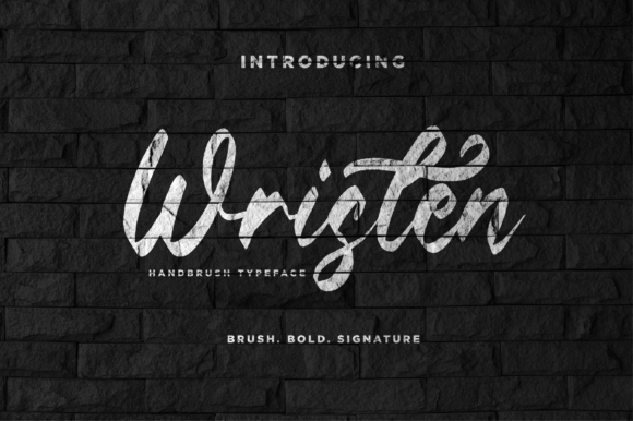 Print on Demand: Wristen Script & Handwritten Font By fanastudio