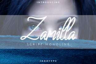 Print on Demand: Zamilla Manuscrita Fuente Por jadatype