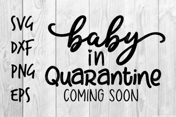 Download Free Baby In Quarantine Graphic By Spoonyprint Creative Fabrica for Cricut Explore, Silhouette and other cutting machines.