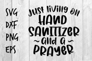 Download Free Hand Sanitizer And A Prayer Graphic By Spoonyprint Creative Fabrica PSD Mockup Template