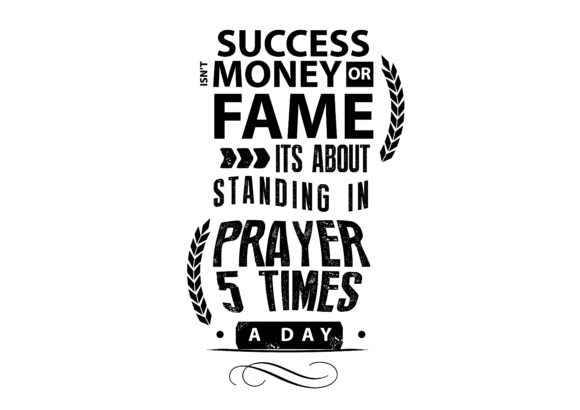 Download Free Success Isn T Money Or Fame Graphic By Baraeiji Creative Fabrica for Cricut Explore, Silhouette and other cutting machines.