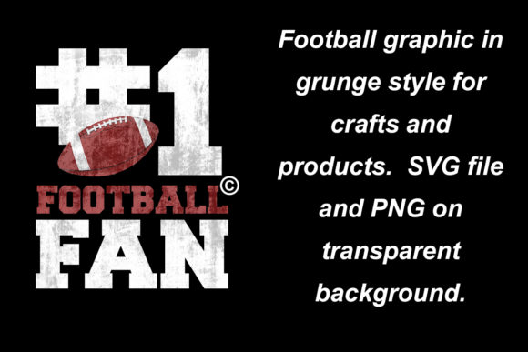 Download Free 1 Football Fan Craft File Graphic By A Design In Time Creative for Cricut Explore, Silhouette and other cutting machines.
