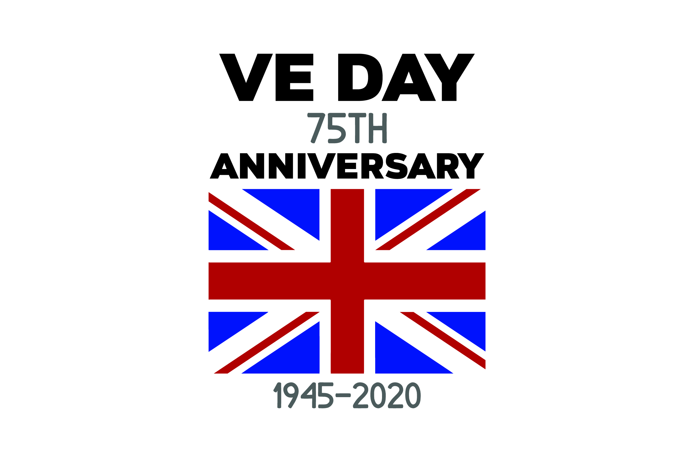 Download Free Ve Day 75th Anniversary 1945 2020 Svg Cut File By Creative for Cricut Explore, Silhouette and other cutting machines.