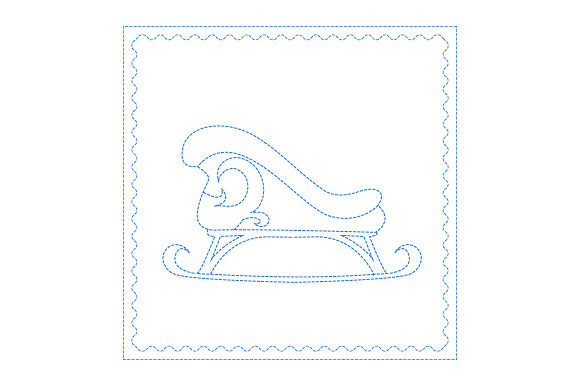 Sleigh Antique Bluework Svg Cut File By Creative Fabrica Crafts
