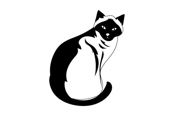 Download Free Siamese Cat Svg Cut File By Creative Fabrica Crafts Creative for Cricut Explore, Silhouette and other cutting machines.