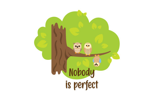 Download Free Nobody Is Perfect Svg Cut File By Creative Fabrica Crafts Creative Fabrica SVG Cut Files