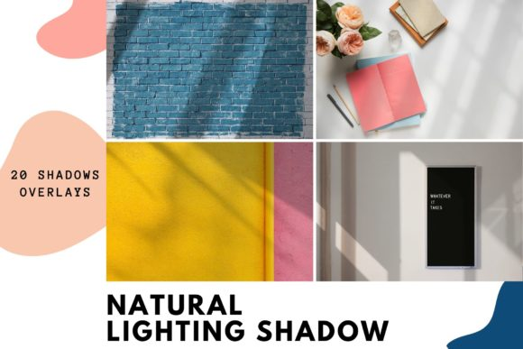 20 Natural Lighting Shadow Collection Grafik Abstrakt von Nuchylee