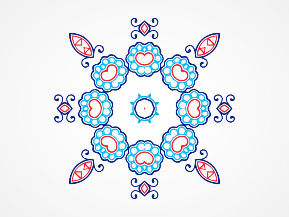 Download Free Abstract Ornament Pattern Elements Graphic By Vectorceratops Creative Fabrica for Cricut Explore, Silhouette and other cutting machines.
