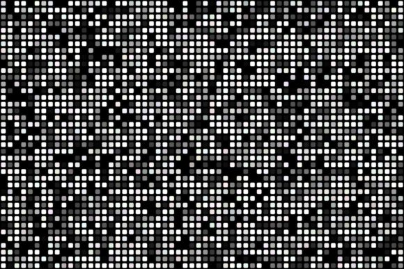 Abstract Pixel Mosaic Background Graphic Patterns By davidzydd