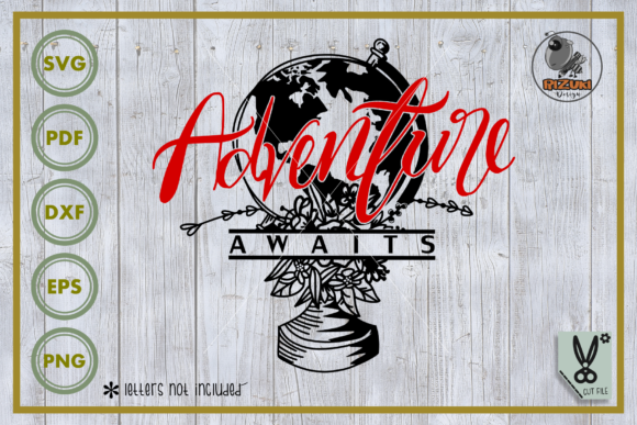 Adventure Adventure Awaits Cut File Graphic By Rizuki Store Creative Fabrica
