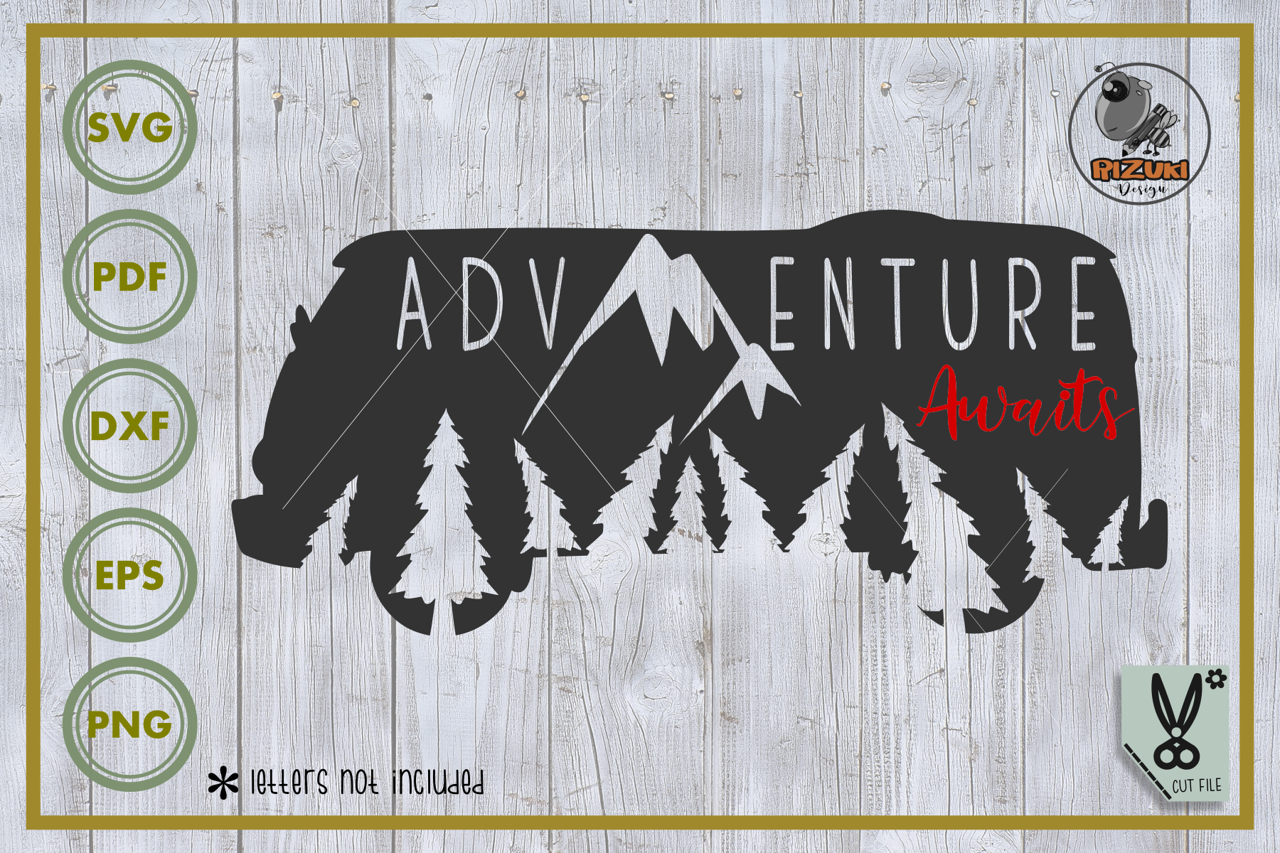 Adventure Adventure Awaits Graphic By Rizuki Store Creative Fabrica