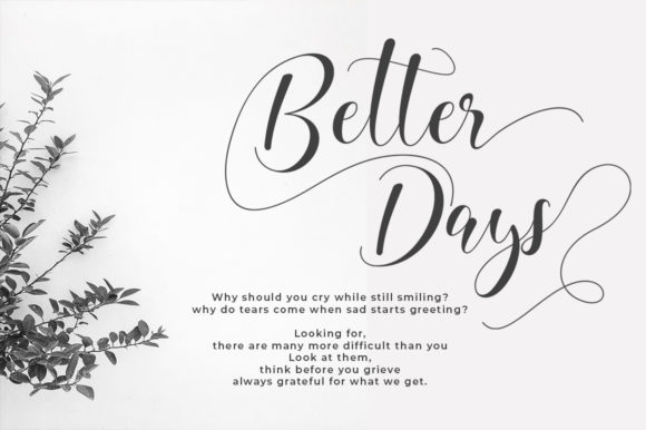 Beauty Home Font By Natural Ink Creative Fabrica