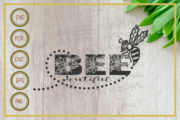 Download Free Bee Bee Beautyfull Silhouette Graphic By Rizuki Store for Cricut Explore, Silhouette and other cutting machines.