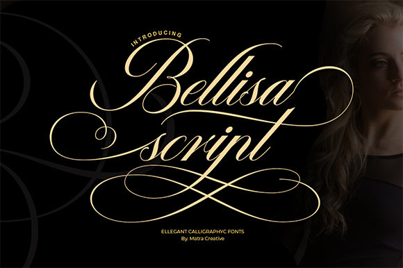 Print on Demand: Bellisa Script Script & Handwritten Font By Matra Creative
