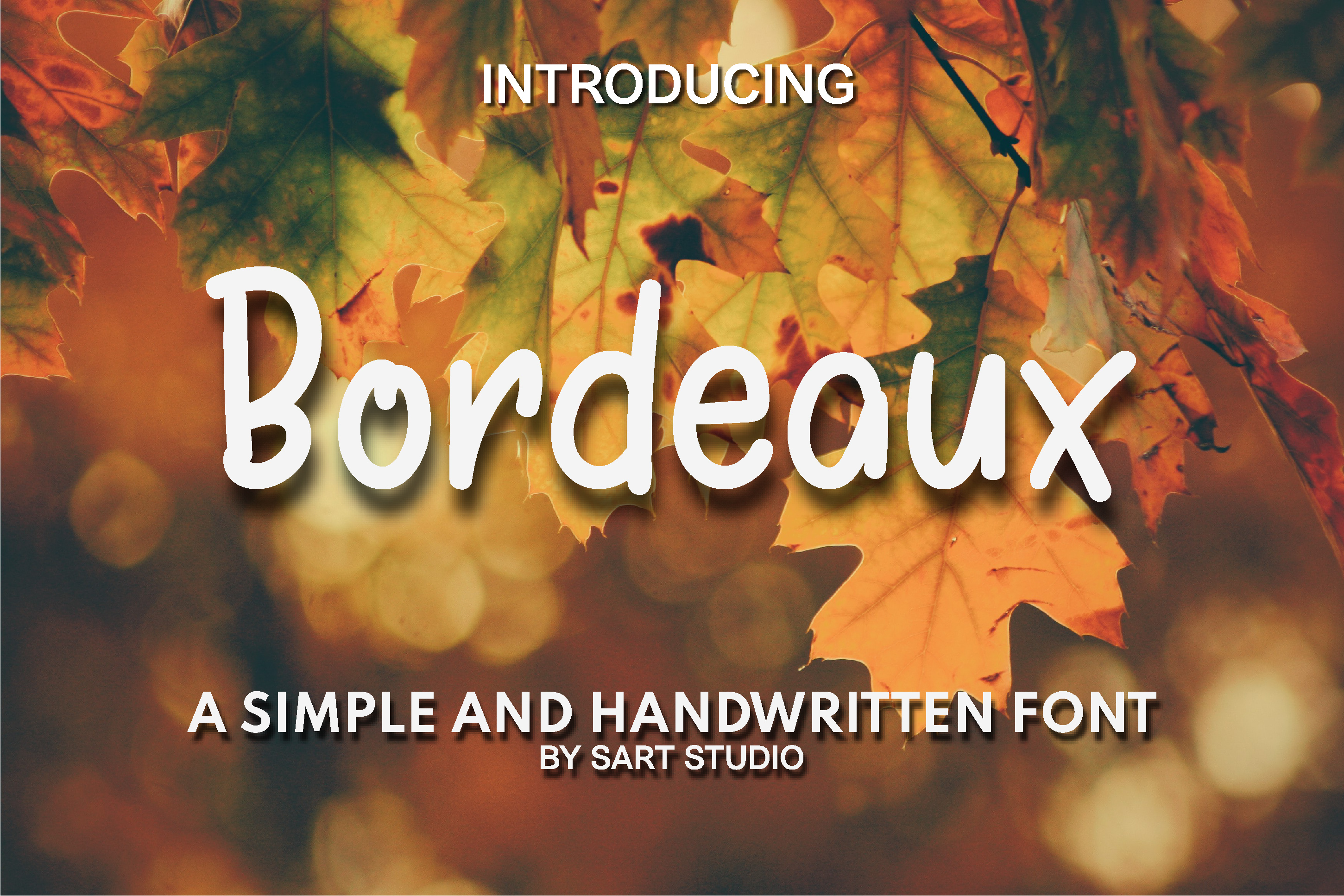 Download Free Bordeaux Font By Sartstudio Creative Fabrica for Cricut Explore, Silhouette and other cutting machines.