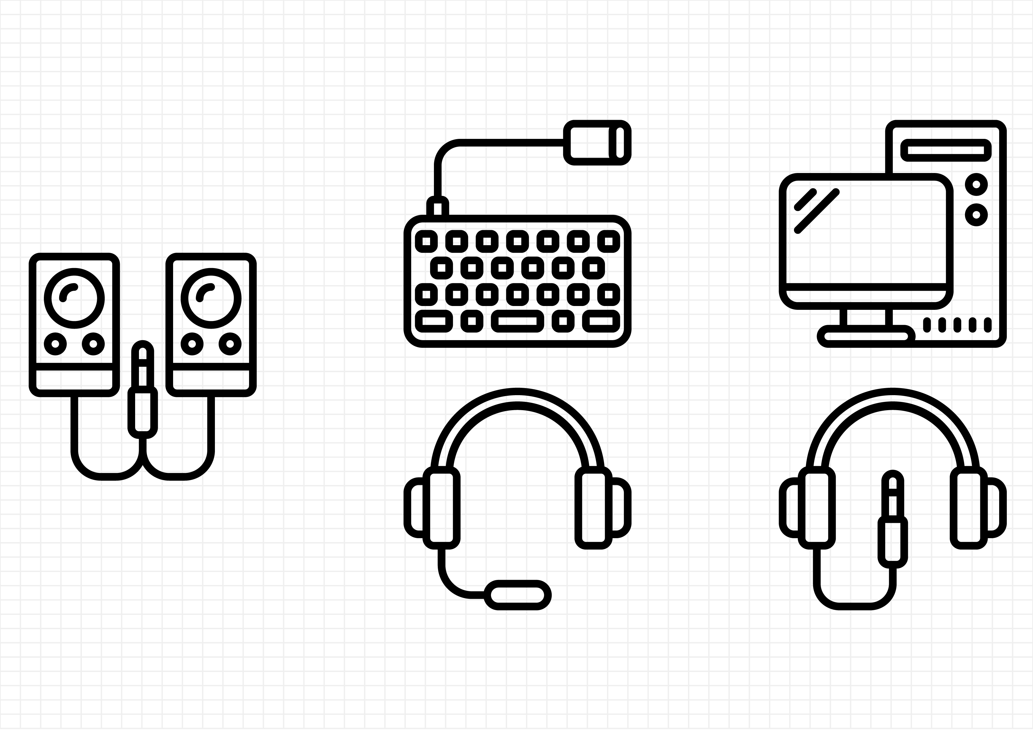 Download Free Computer Hardware Graphic By Beryladamayu Creative Fabrica for Cricut Explore, Silhouette and other cutting machines.