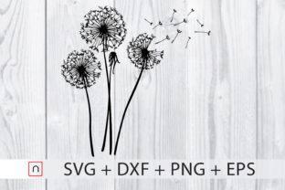 Download Free Dandelions Graphic By Novalia Creative Fabrica SVG Cut Files