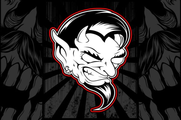 Demon Vector Graphic Illustrations By Epic.Graphic