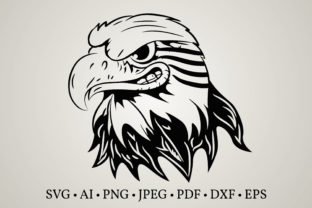 Eagle Head Face  Graphic Crafts By Euphoria Design