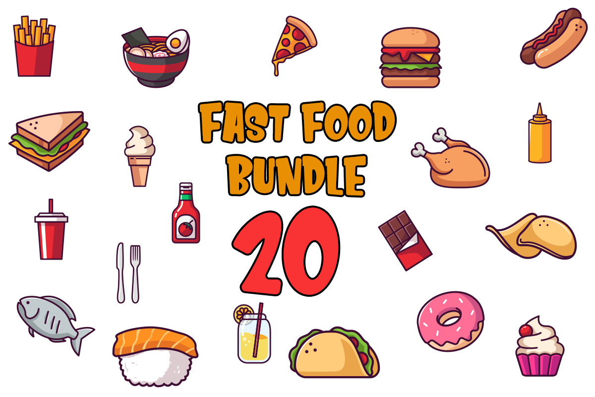 Fast Food Bundle Free Download