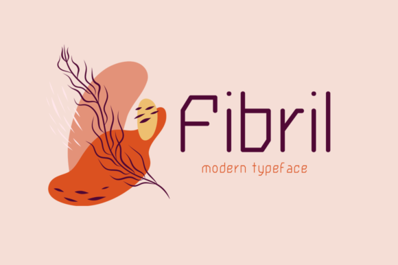 Print on Demand: Fibril Display Font By Seemly Fonts