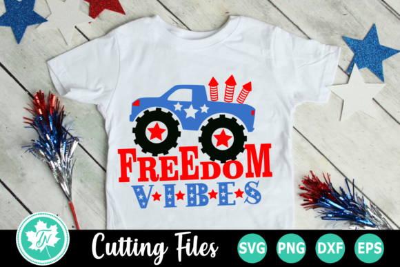 Download Free Freedom Vibes An Americana Graphic By Truenorthimagesca SVG Cut Files