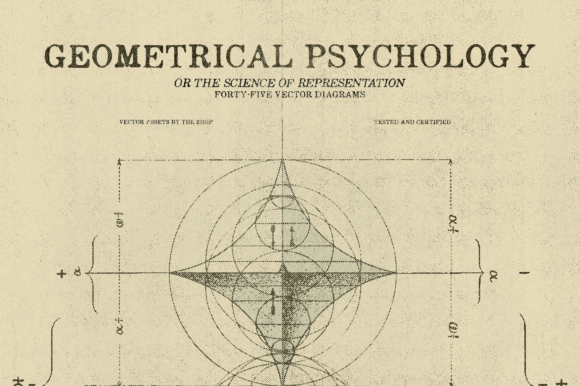 Geometrical Psychology Diagrams Graphic Illustrations By theshopdesignstudio