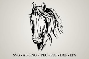 Horse Clipart Graphic Crafts By Euphoria Design