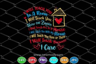 Download Free I Will Teach You In A Room Graphic By Amitta Creative Fabrica for Cricut Explore, Silhouette and other cutting machines.