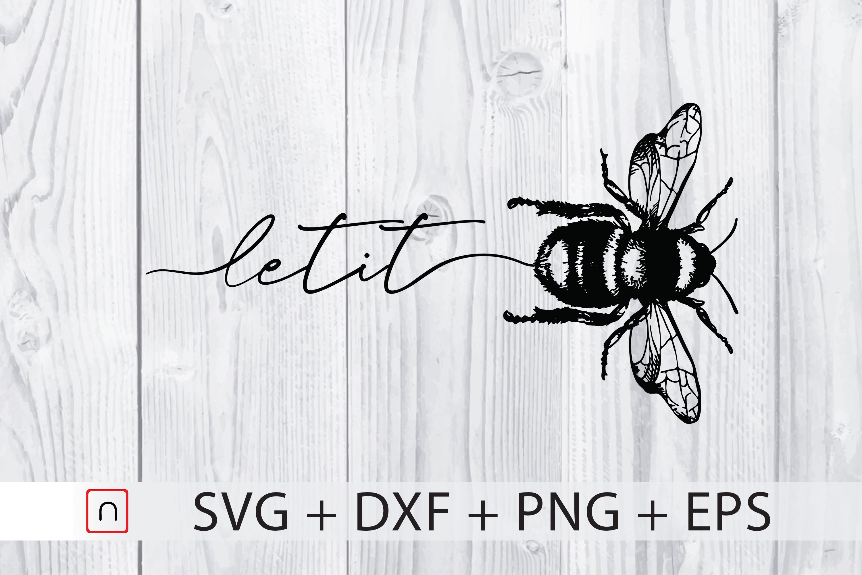 Let It Bee Graphic By Novalia Creative Fabrica
